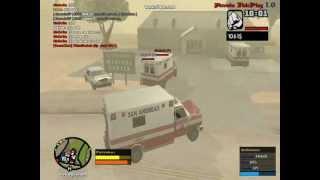 Nevada RP podvadzanie hráča ghostu