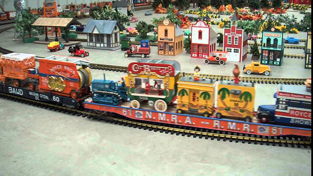 Santa Fe NM Santa Fe Model Train Display Of G Scale Circus