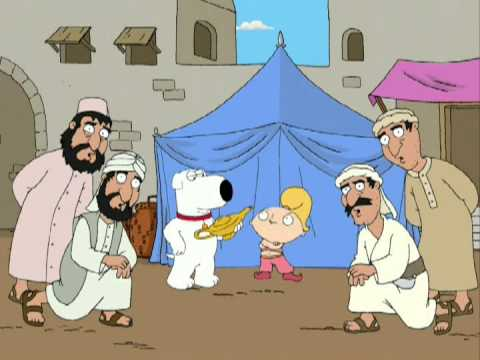 Family Guy - Brian and Stewie: You and I are so awfully different
