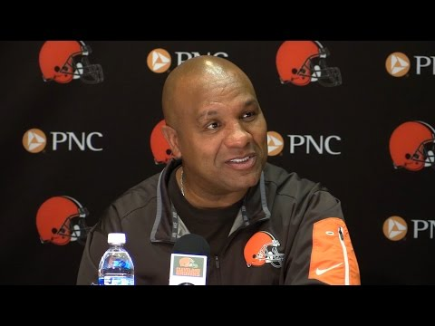 Hue Jackson's vision for Cleveland Browns season (video)