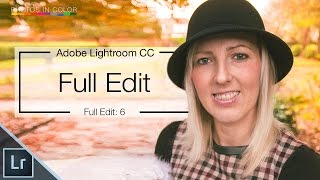 Lightroom 6 Tutorial - How to edit Portraits in Lightroom CC