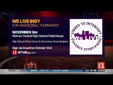 Youth basketball tourney