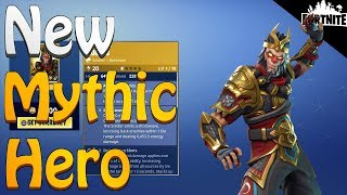 FORTNITE - How To Get A Mythic Hero! (New Event Store Items And Opening Spring Llamas)