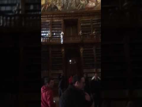 Strahov Monastery's Big Library in Prague