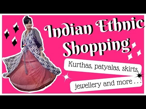 shopping in commercial street, new bel road sabhyata | bangalore Shopping try-on haul