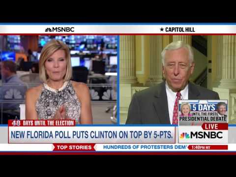 Democratic Whip Steny Hoyer Interview with MSNBC's Kate Snow