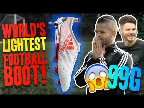 THE WORLD'S LIGHTEST FOOTBALL BOOT!