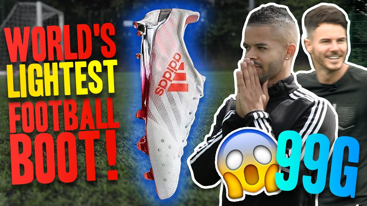 the lightest football boots