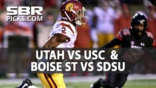 College Football Picks | Utah vs USC & Boise st vs SDSU