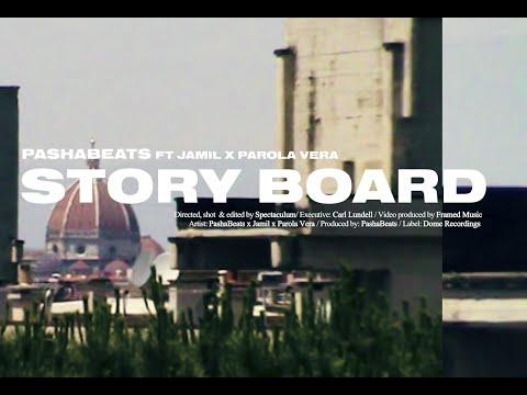 PASHABEATS FT. JAMIL, PAROLA VERA - STORYBOARD (OFFICIAL MUSIC VIDEO)