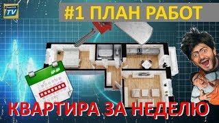 #1 План работ /Краснодар/ЖК Панорама