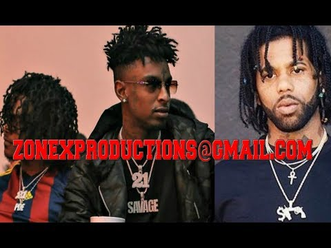 21 Savage & Young Nudy ADMITTED ROBBED Hoodrich Pablo Juan STRIPPED WARN him leave zone 6!WACTH