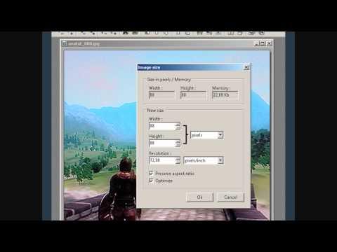 X YouTube Channel Icon Template - Minecraft server icon erstellen gimp