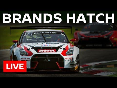 Blancpain GT Sprint Series - Brands Hatch 2016 - FULL RACE LIVE