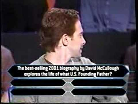 2/3 Seth Green on Millionaire (comedy edition)