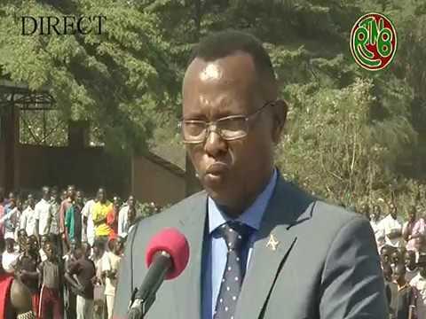 56ème anniversaire de l'indépendance du Burundi part 11 ( Mot d'accueil Maire de la ville)