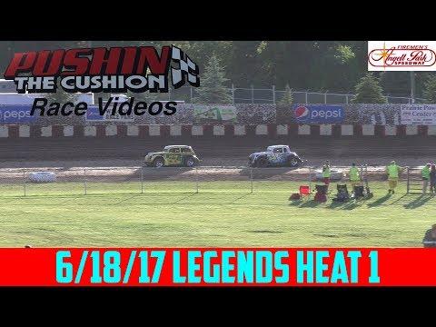 Angell Park Speedway - 6/18/17 - Legends - Heat 1