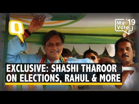 Exclusive: Congress' Shashi Tharoor Confident of Winning 2019 Lok Sabha Polls | The Quint