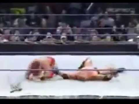 Brock Lesnar Vs Chris Benoit 2003 Full Match HD