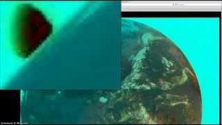 Strange Image of Earth. Satellite captures rare moment!