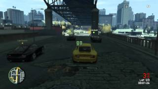 GAMEPLAY #14 | GTA IV Multiplayer Race