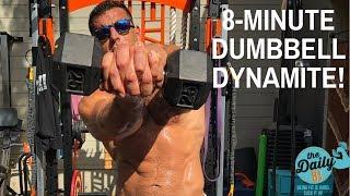 💥8-MINUTE DUMBBELL DYNAMITE! | BJ Gaddour Dumbbells Workout