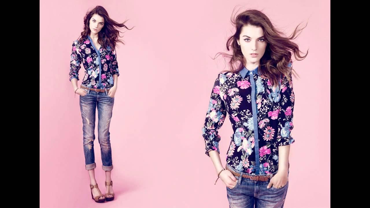 2747e4dcd Outfits con blusa de flores