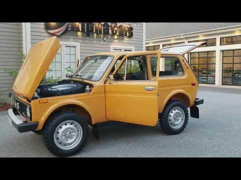 1983 Lada 2121 Niva 4x4, Overview, AlphaCars & Ural Of New England
