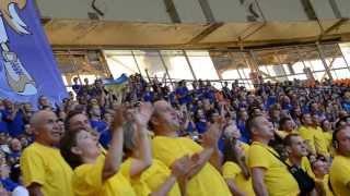 Украинские болельщики в Москве на чемпионате мира по легкой атлетике!(ярмолинецкие болельщики)