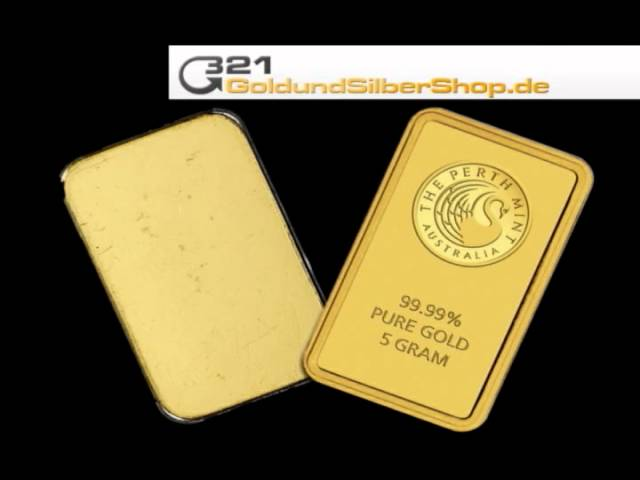 5 g Goldbarren, Perth Mint, 5g 5Gramm (321goldundsilbershop.de)