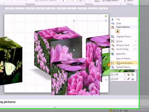 Animated 3 D Cube With Changing Pictures PPT Template - YouTube