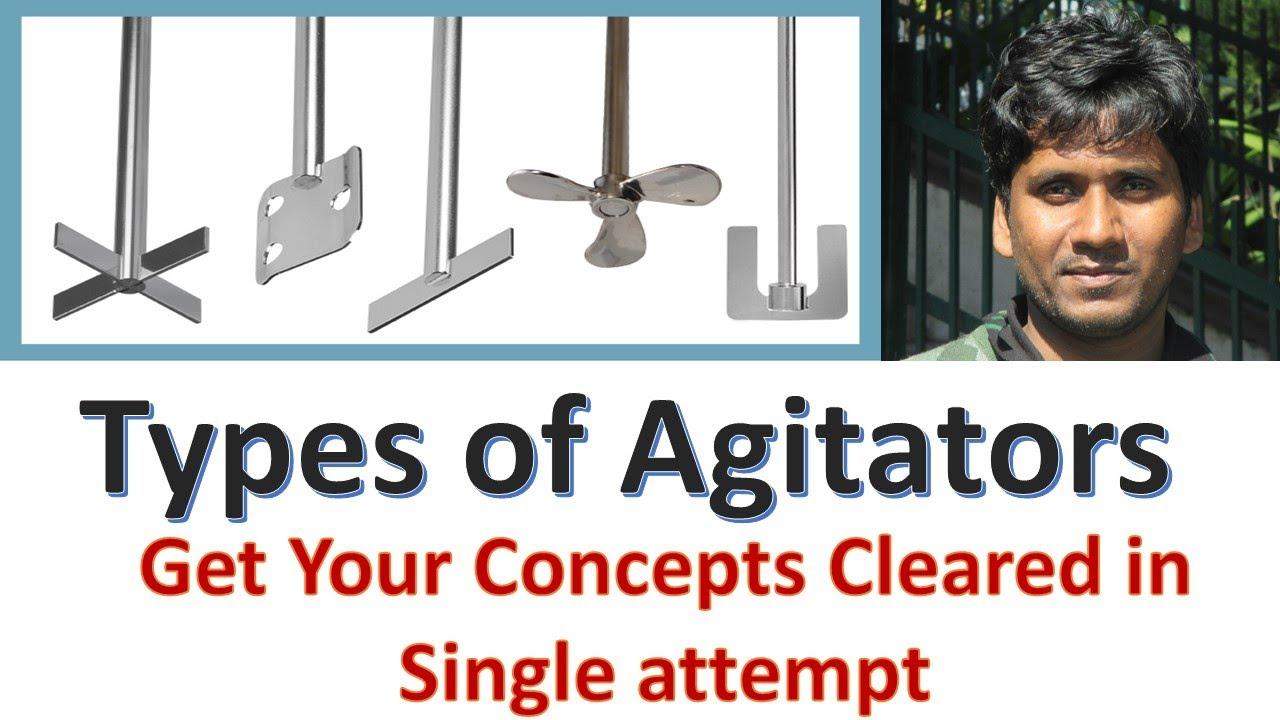 Download Types of Agitators    Agitator Types    Basics@Chemical Mahi