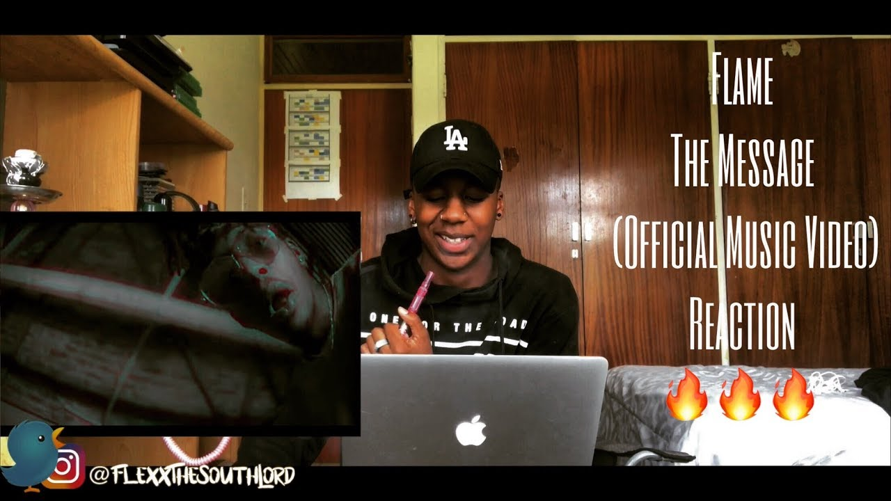Download Flame - The Message (Official Music Video) | REACTION 🔥 | South African YouTuber