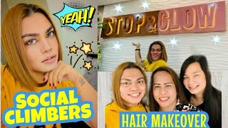 HAIR MAKEOVER | STOP & GLOW | SOCIAL CLIMBERS | BRENDA MAGE