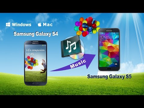 [Galaxy S4 Music to S5]: How to Sync Songs from Samsung S4 to Samsung S5