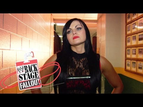 Backstage Fallout - Why Aksana attacked Kaitlyn - Raw -- November 19, 2012