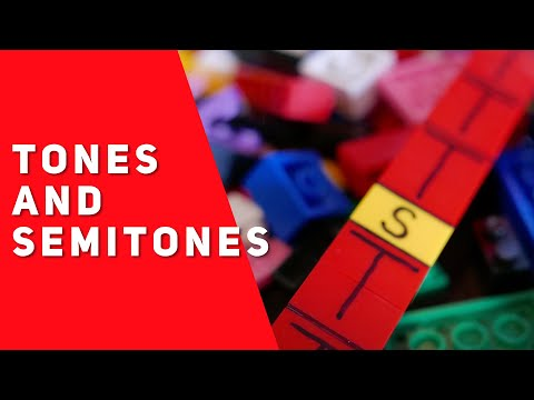 Tones and Semitones (Music Theory Lesson 1)