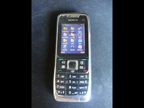 Nokia E51 prezentacja paru opcji