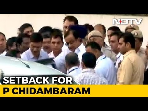 """Setback For P Chidambaram, Top Court Says His Petition """"Infructuous"""""""