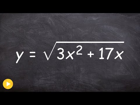 How to take the derivative of square root x