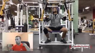 First Upper Body Gym Workout After Shoulder Surgery