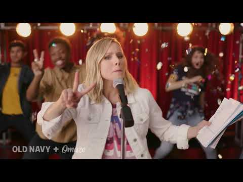 Kristen Bell Sings the Ultimate Back-to-School Anthem // Old Navy // Omaze (3:45)