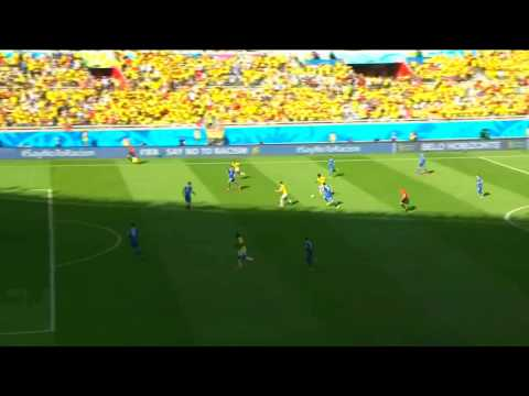 James Rodríguez goal - Colombia x Greece -