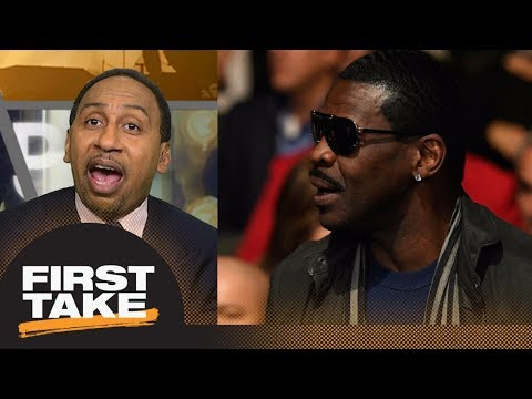 Stephen A. Smith goes off on Michael Irvin for calling out his take | First Take | ESPN