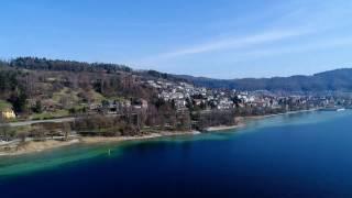Bodensee Luftaufnahmen - Campingplatz Schachenhorn