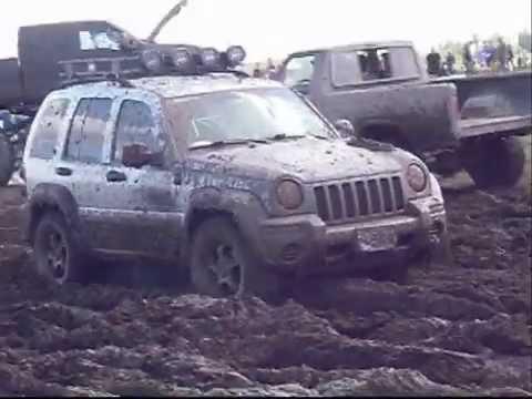 Jeep Liberty off road ...