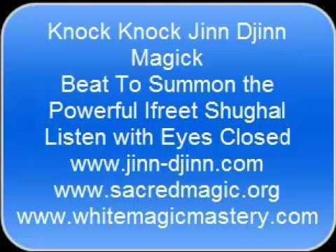 Knock Knock Jinn Djinn Magick