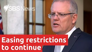 COVID-19 restrictions to continue easing despite Victoria spike I SBS News