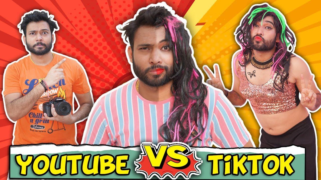 Download YOUTUBE VS TIKTOK   KHATAM   BakLol Video