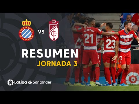 Resumen de RCD Espanyol vs Granada CF (0-3)